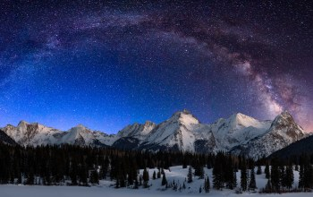 colorado,range,grenadier,Milky way,electric,peak,landscape,mount,molas