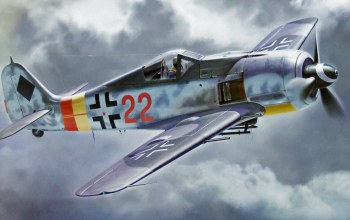 Focke wulf fw 190 a-9,aviation,aviation,painting,ww2,war