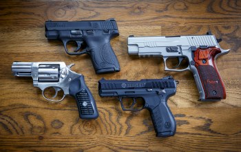 ruger sr22,Smith & wesson 9mm,sig p226,пистолеты,ruger sp101