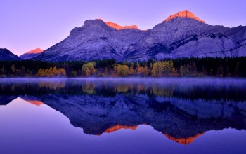 sunrise,kananaskis country,canadian rockies,morning,mountains