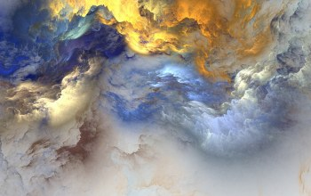 Облака,unreal,background,clouds,colors,Abstract