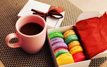 cookies,sweet,colorful,cup,Macaron,макарун,almond,coffee