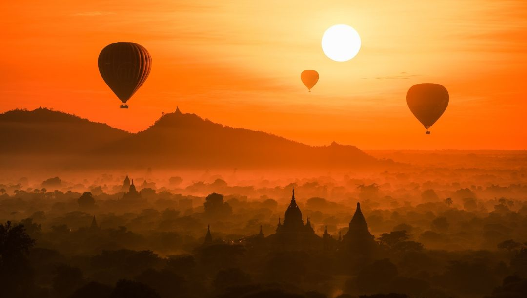 temple,мьянма,myanmar,palace,Sunset,old,the lost town,forest,architecture