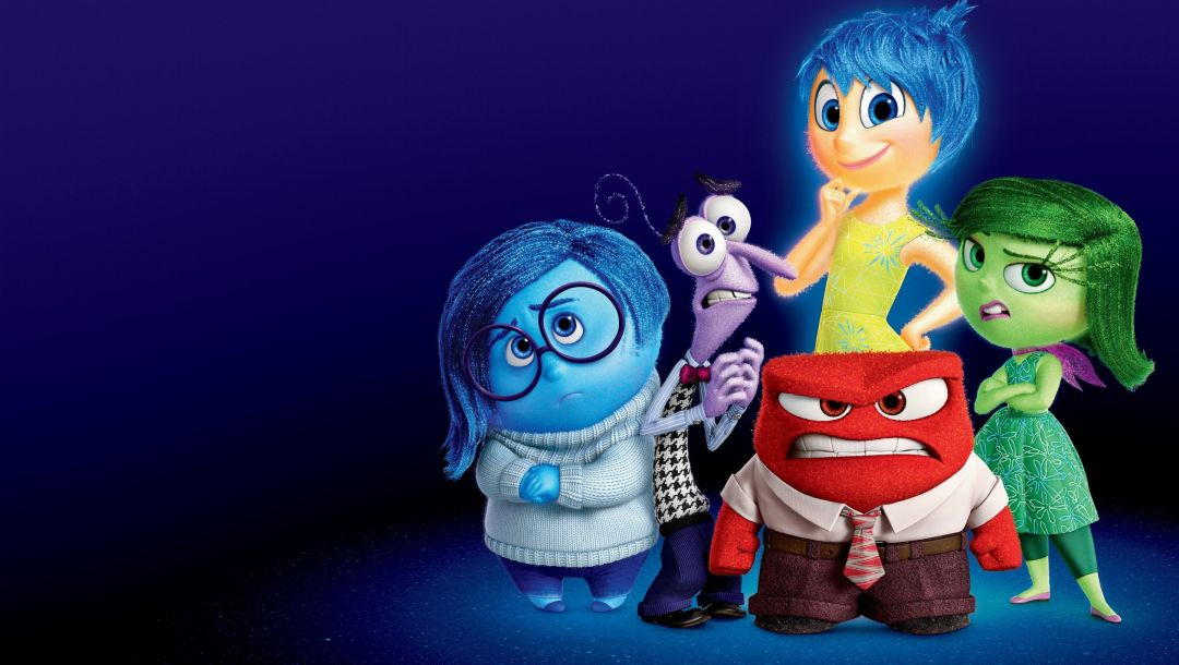 riley,fear,sadness,adventure,anger,disgust,five emotions,Inside out,glasses,joy