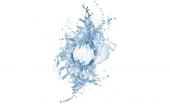 sprays,white background,Вода,water,брызги