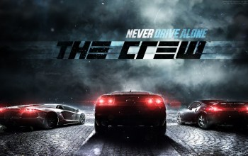 chevrolet,Lamborghini,The crew,тачки,машины