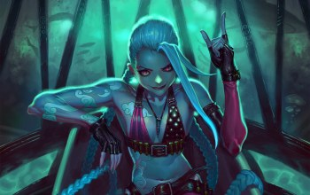 league of legends,игры,Jinx,happykwak,upscale