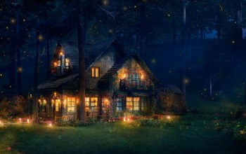 светлячки,The firefly cottage
