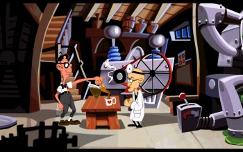 remastered,Day of the tentacle,decaffeinated coffee,lab