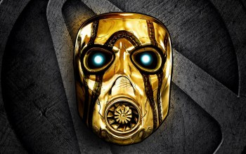 Borderlands: the handsome collection,2k games,маска,знак,gearbox software,золото