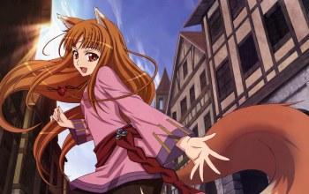 spice and wolf,дома,holo