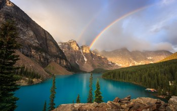 canada,Moraine lake,alberta,valley of the ten peaks