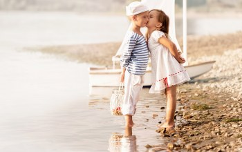 friends,beach,дети,boy,girl,Девочка,мальчик,dress,children