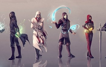 Dishonored,mass effect,lord of the rings