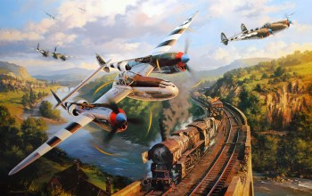P 38,war,attack,bomber,painting. drawing,dogfight,ww2,american fighter,combat