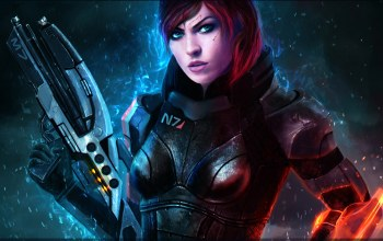 mass effect,M7,assault rifles,commander,renegade,bioware