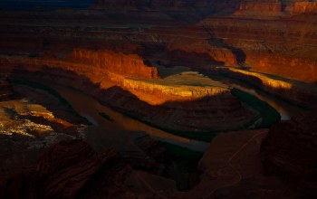 horseshoe bend,река колорадо,скалы,подкова,Grand canyon national park