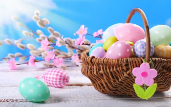 happy,eggs,decoration,Весна,Easter,цветы,spring,яйца