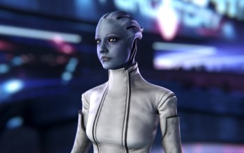 mass effect,scientist,asari,liara tsoni