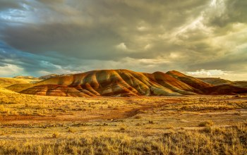 сша,john day fossil beds national monument,центральный орегон