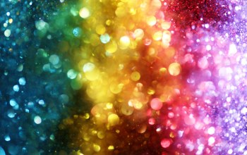 Цвет,rainbow,colorful,bokeh,lights