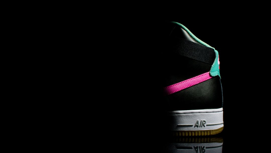 nike,mid night rose,air force