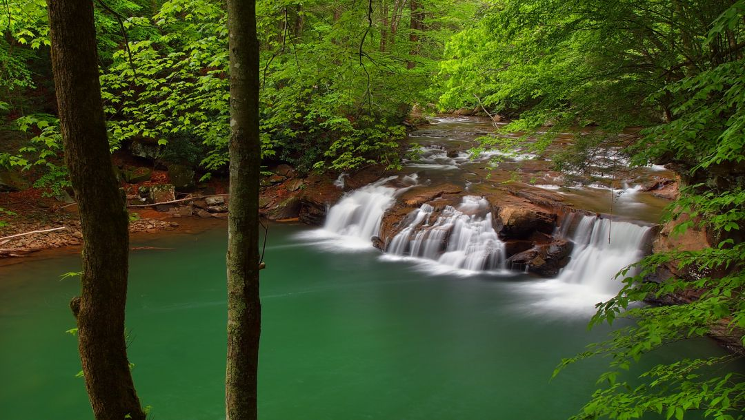 new river,new river gorge national river,west virginia,Lower glade creek falls