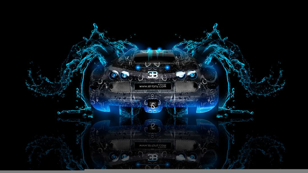 photoshop,Tony kokhan,water,effects,Abstract,azure,blue,car