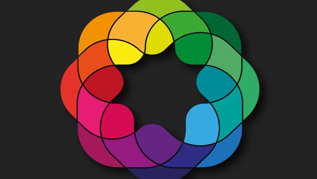 rainbow,colorful,geometry,Abstract,background,colors,shapes