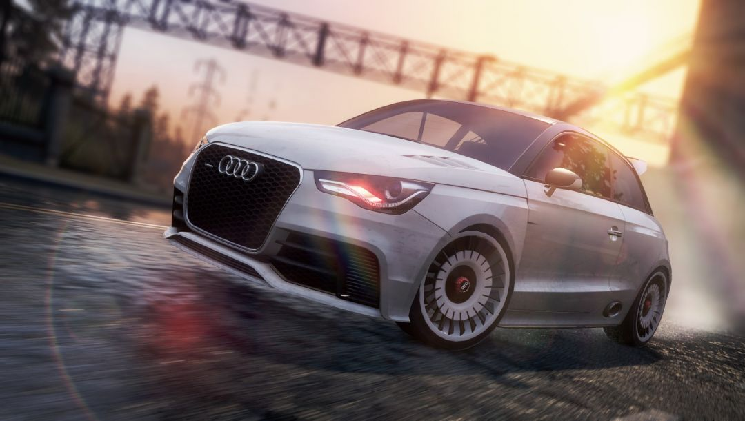 гонка,audi a1 clubsport quattro,автомобиль,Need for speed most wanted 2