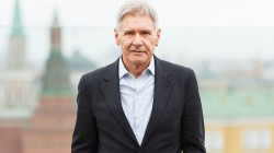 star of hollywood,suit,actor,smile,pose,harrison ford