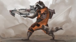 guardians of the galaxy,rocket,raccoon,art,Енот