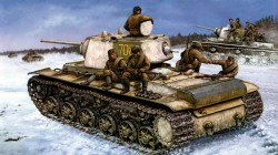 russian infantry,russian tank,ww2,war,red army,painting