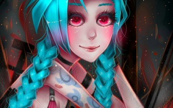 league of legends,Jinx,джинкс
