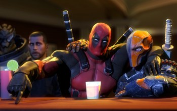deathstroke,Deadpool