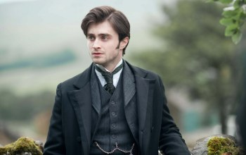 костюм,daniel radcliffe,Woman in black,поза