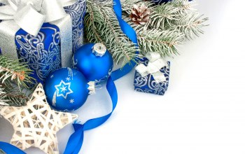 blue,christmas,decoration,balls,рождество,gift