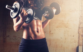 dumbbells,abs