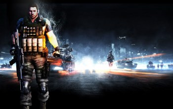 автомат,battlefield 3,Resident evil 6,chris redfield