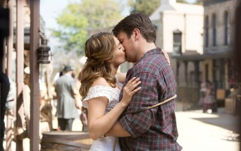 once upon a time in the west,касл,stana katic,nathan fillion