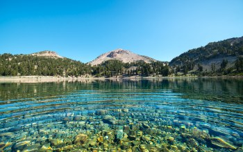 california,Lake helen,lassen national forest
