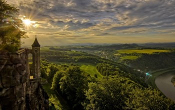königstein,кёнигштайн,Germany,königstein fortress,elbe river,saxony