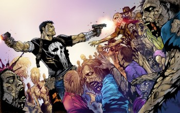 crossover,Каратель,the walking dead,frank castle,punisher