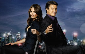 касл,stana katic,nathan fillion