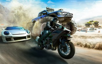 Мотоцикл,ubisoft,бигфут,ivory tower,The crew,The crew: wild run,wild run