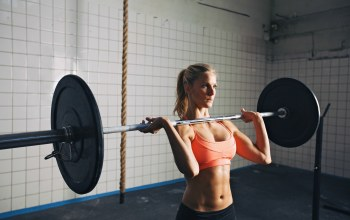 blonde,workout,crossfit