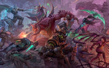 starcraft,warcraft,Tychus,zeratul,Thrall,heroes of the storm