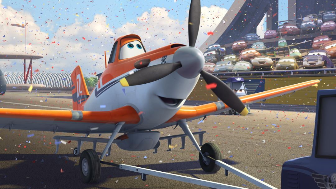 animated movie,wings,dusty,planes,action,air race,adventure,walt disney,rally