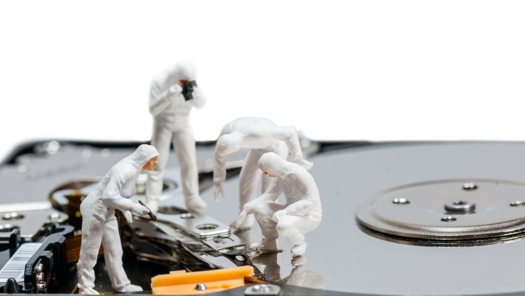 Hard disk,cleaning