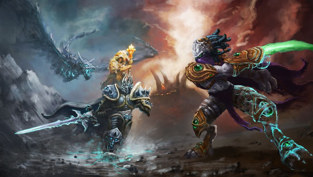 zeratul,arthas,heroes of the storm,warcraft